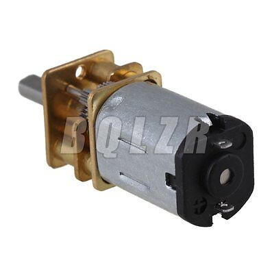 High Torque DC 6V 12mm Motor Dia 1000RPM Reduce Speed Electric Gearbox Motor