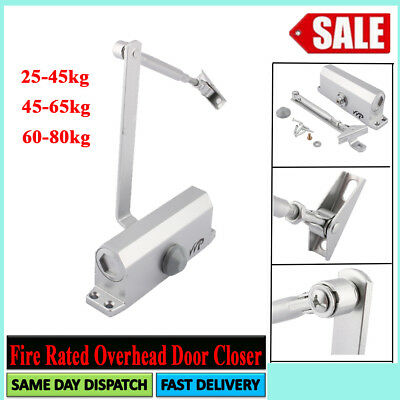45~80Kg Fire Rated Overhead Door Opener Closer Soft Closure-Adjust Safety