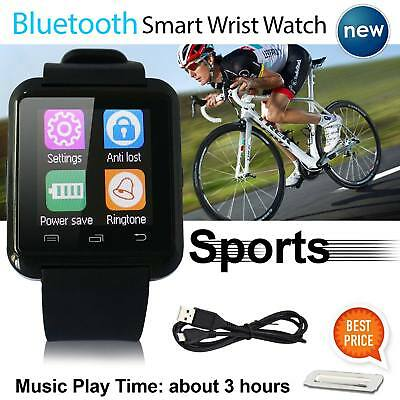 2018 Bluetooth Smart Wrist Watch Phone Mate For Android iOS iPhone Samsung HTC