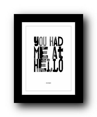 Jerry Maguire ❤ Typography movie quote poster art limited edition print #55