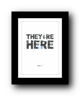 Poltergeist ❤ Typography movie quote poster art limited edition print #67