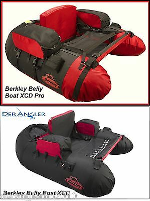Berkley Tec Belly Boat Pulse Pro XCD Bellyboat Boot Blaxck/ Red 1377098 1377097