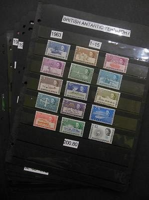 BR ANTARCTIC TERRITORY : Beautiful collection of all diff VF MNH Cplt sets & S/S