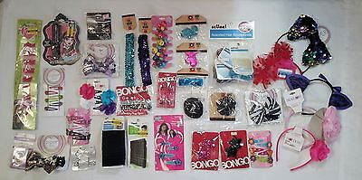 Wholesale Lot of Assorted Hair Accessories Approx. 100 PCS Brand Name, NEW