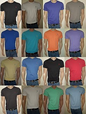 Men Polo Ralph Lauren  T-Shirt Crew Neck and V-neck  S,M,L,XL,XXL STANDARD FIT