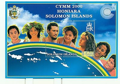 "EMBLEMES - EMBLEMS SOLOMON ISLANDS 2000 block ""CYMM 2000"""