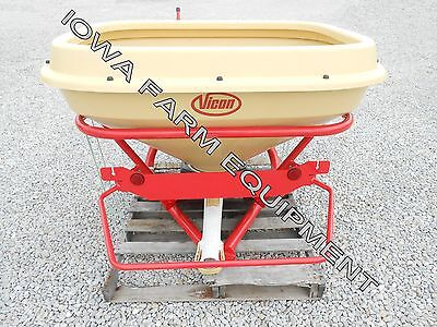 Vicon PS-403 11Bu Pendulum Grass Seeder,Fertilizer Spreader w/4Bu Extension!