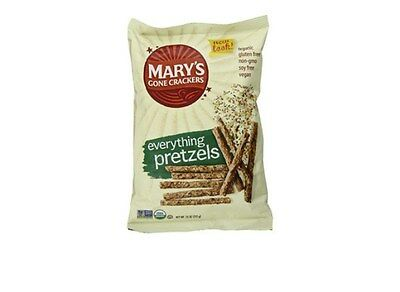 Mary's Gone Crackers Sticks & Twigs Pretzels, Sea Salt, Gluten Free, Organic
