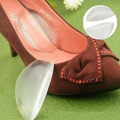 1 Pair Clear Silicone Gel Women High Heel Shoes Inserts Insole Cushion Pad  ca