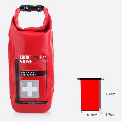 Waterproof Emergency First Aid Kit Dry Bag Sack Rafting Travel Camping Kayaking