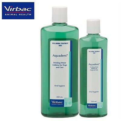 VIRBAC - AQUADENT Dental Mouthwash for Dogs & Cats-FREE SHIP
