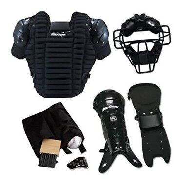 Macgregor Complete Umpire Pack Protection Chest Protector Mask Leg Guard Gear