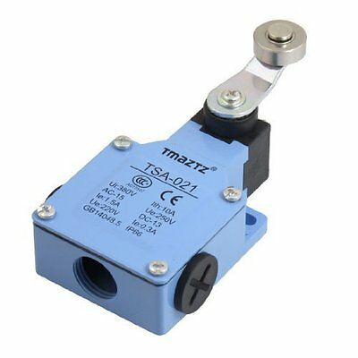 TSA-021 AC 250V DC 220V 1.5A 0.3A Roller momentary actuator lever limit switch