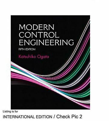 4DAYS DELIVERY - Modern Control Engineering, 5th Int'l ed. by Katsuhiko Ogata