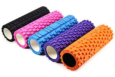 Fitness Floating Point EVA Yoga Foam Roller for Physio Massage Pilates 5 colors