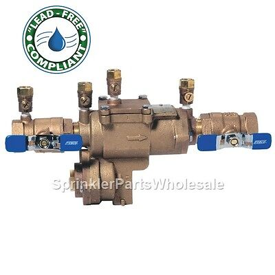 "Febco 1"" LF860-QT RP Lead Free Reduced Pressure Zone Backflow Preventer 0683002"