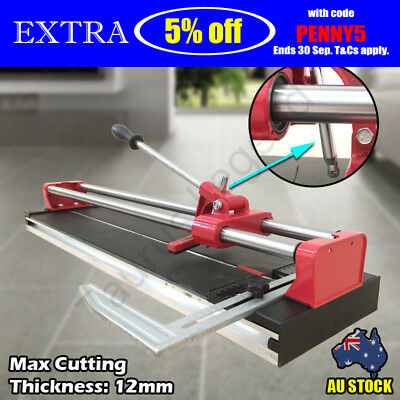 600mm Manual Tile Cutter Cutting Machine Cuts 12mm Thickness Ceramic Porcelain
