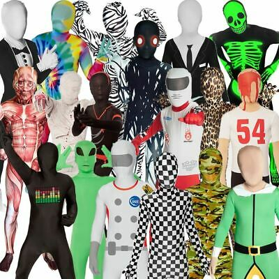 Kids Morphsuit Fancy Dress Costume Great For Book Week Partyhalloween Boys Girls