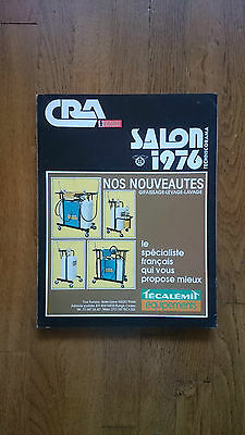Document publicitaire CRA salon 1976
