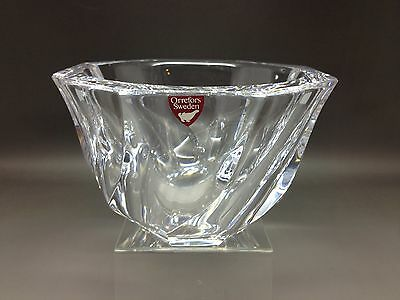 Super Orrefors Glass Bowl - Small Size Approx 8 Cm Tall