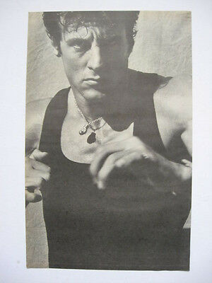 Vintage 1985 Magazine Print Actor Sylvester Stallone Large Ad Page