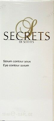 Sothys Secrets de Sothys Eye Contour Serum  0.5 oz / 15 ML  New in Box