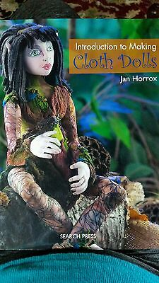 Introduction to Making Cloth Dolls, Jan Horrox, Book Excellent Condition