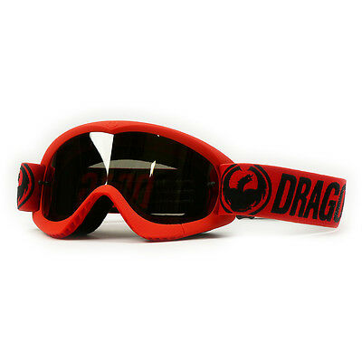 Dragon NEW Mx Kids MDX Break Red Dirt Bike Youth Ion Tinted Motocross Goggles