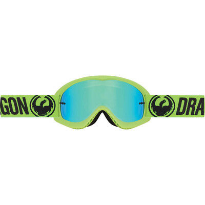 Dragon NEW Mx Kids MDX Break Dirt Bike Youth Green Tinted Motocross Goggles