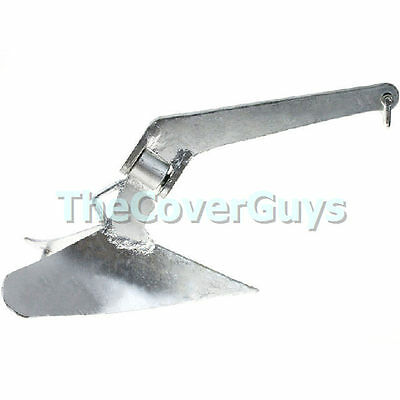 Boat Anchor Maritime Plough 20lb Galvanised Finished