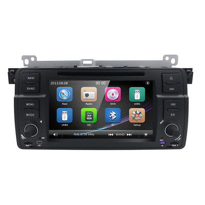 for BMW E46 318 320 325 Car DVD Player GPS Navigation System 1DIN Radio Stereo