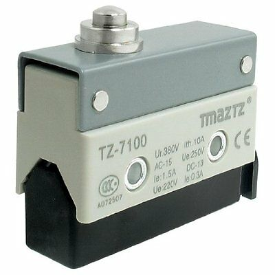 TZ-7100 Short Push Plunger Actuator Momentary SPDT Micro Limit Switch