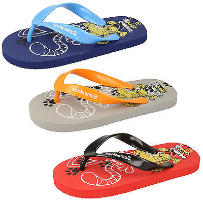 Wholesale Boys/Girls Casual Flip Flops 12 Pairs Sizes 31-35  CAT