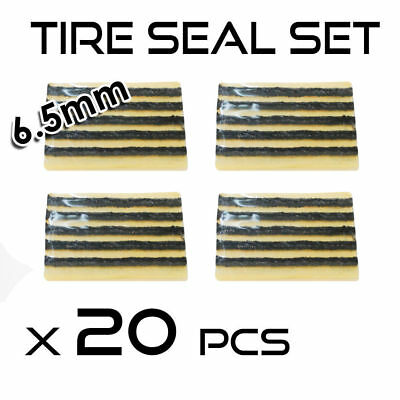 20 x Repair Strings Tubeless Tyre Seal Inserts Plugs for Tire Puncture 100 mm
