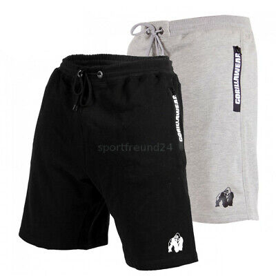 Gorilla Wear Pittsburgh Sweat Shorts Fitnessbekleidung Sportswear Bodybuilding