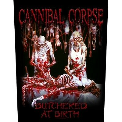 Back Patch Cannibal Corpse - Butchered At Birth