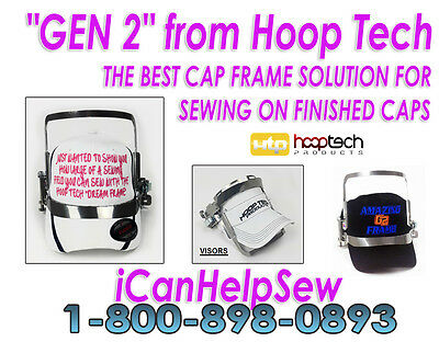 Embroidery Machine Hat Hoop Cap Frame - Gen 2 BabyLock 6 Needle EMP6 BMP8 BMP9