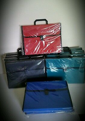 Wholesale Lot 13 Travel Office Briefcase Red Blue Green Black Cheap RETAIL READY