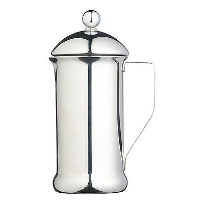 Kitchencraft Lexpress Eight Cup Single Walled Stainless Steel Cafetiere