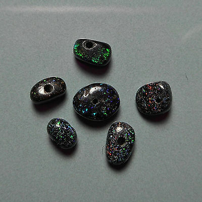 Lot petites opales de fée australiennes perles VIDEO Fairy opal bead