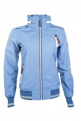 Kinder Reitjacke International HKM PRO TEAM mittelblau NEU