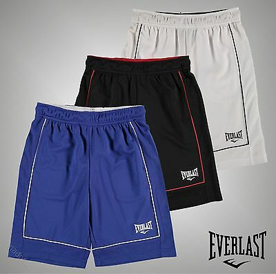 Junior Boys Everlast Loose Mesh Basketball Shorts Pants Bottoms Size Age 7-13