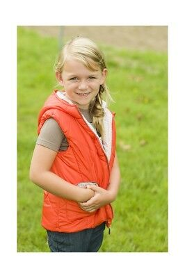 Kinder Reitweste Sweetheart Little Sister orange NEU