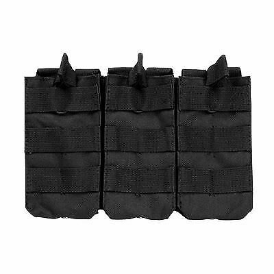 VISM by NcSTAR TRIPLE RIFLE MAG POUCH/BLACK