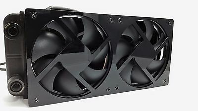 Custom computer 240mm water cooling / radiator fan grill