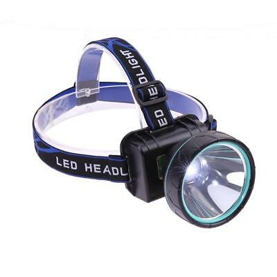 2000LM LED Headlamp Waterproof Rechargeable Headlight Torch + Battery + Charger