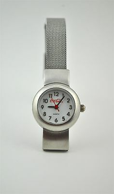 Coca Cola Womens Watch Metal Bezel Stainless Steel Japanese Movement