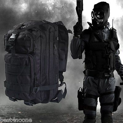 Military Tactical Backpack Oxford Sport Bag for Camping Traveling Hiking - 30L