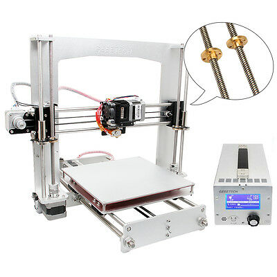 Geeetech 3D Printer Prusa i3 A Pro with safer 3 in 1 Box, Factory Direct