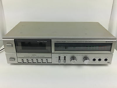 Realistic SCT-41 Stereo Single Cassette Tape Deck Player Recorder